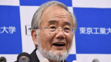 """Yoshinori Ohsumi a reçu le prix Nobel de médecine pour ses travaux de recherche fondamentale sur l'autophagie, un processus de nettoyage et surtout de """"recyclage"""" dans la cellule."""
