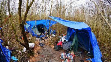 Réfugiés à Dunkerque, France