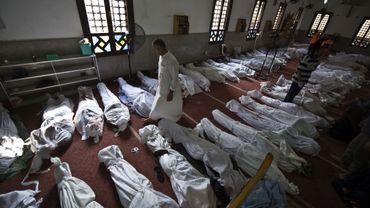 Morgue au Caire, le 15 août