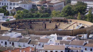 L'arène d'Osuna, en Andalousie