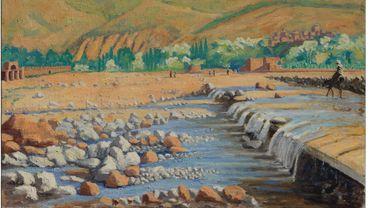 """""""Scene at Marrakech"""" de Winston Churchill sera proposé à la vente chez Christie's en mars prochain."""