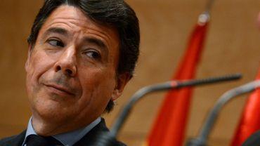 L'ancien président conservateur de la région madrilène, Ignacio Gonzalez, le 8 février 2013 à Madrid