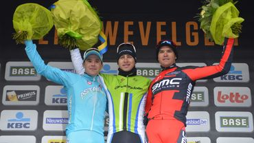 Le podium 2013 de Gand-Wevelgem