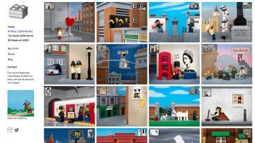 Friesens' Banksy collection sur le site The Brick Fantastic
