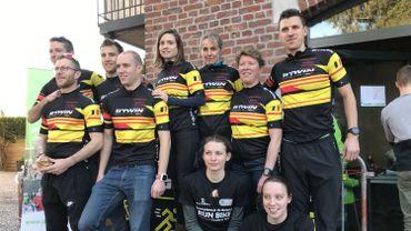 Les Champions de Belgique de Run & Bike 2019