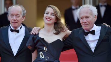 Adèle Haenel et les frères Dardenne à Cannes en mai 2016