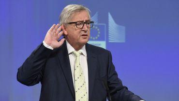 Jean-Claude Juncker, président de la Commission