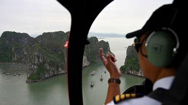 Le tour d'hélicoptère le moins cher est à un peu plus de 110 euros par personne pour 12 minutes