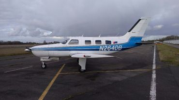 Photo de l'avion qui transportait Emiliano Sala et s'était abîmé dans la Manche le 21 janvier 2019