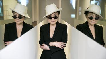 """Yoko Ono dans En Trance"" (1997) par BjarkeØrsted"