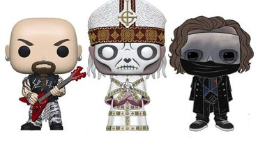 Slipknot, Slayer, Ghost, Motörhead et ZZ Top en figurines!