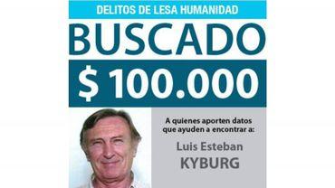 L'avis de recherche de Luis Kyburg.