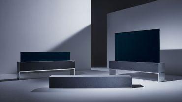 CES : LG commercialisera sa télé qui s'enroule cette année
