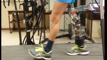 La prothèse robotisée CYBERLEGs++ est issue de la recherche universitaire, menée notamment dans les laboratoires de l'UCL et de la VUB.
