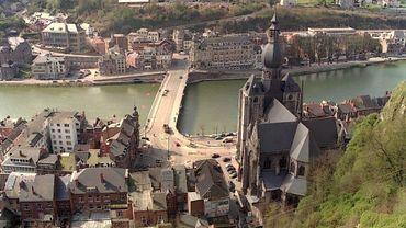 Vue de Dinant depuis la citadelle