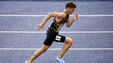 Jonathan Borlée, 5e du 400 en 46.89, toujours pas qualifié pour les Mondiaux de Doha