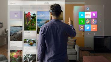 Microsoft HoloLens permet de se plonger dans une réalité augmentée composée d'une multitude d'hologrammes tridimensionnels