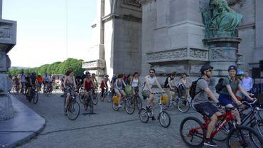 Coronavirus à Bruxelles: la Critical Mass Brussels dispersée sur la Petite Ceinture le vendredi 29mai