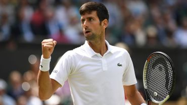 Djokovic en demi-finale, une première en Grand Chelem depuis 2016