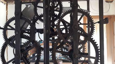 L'horloge de Philippeville en cours de restauration