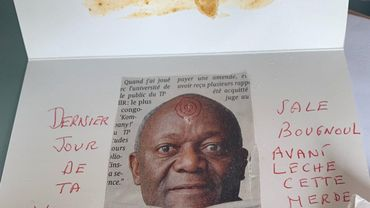 La lettre adressée au bourgmestre Pierre Kompany.