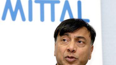 Lakshmi Mittal, CEO et président d'ArcelorMittal.