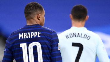 """Pas de """"retrouvailles"""" Ronaldo-Mbappé"""