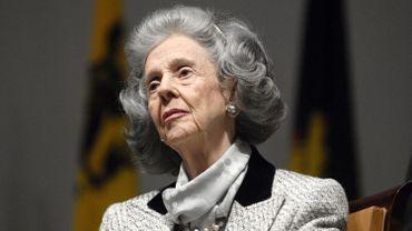 La reine Fabiola en 2007