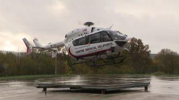 L'hélicoptère médicalisé de Bra-sur-Lienne quotidiennement appelé pour des cas Covid préoccupants