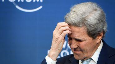 John Kerry à Davos en 2019 (image d'illustration)
