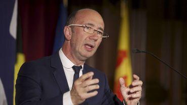 Le ministre-président de la Fédération Wallonie-Bruxelles Rudy Demotte