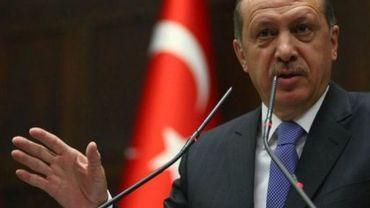 Le Premier ministre turc Recep Tayyip Erdogan, le 13 novembre 2012 à Ankara