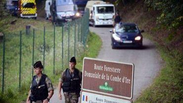Les quatre corps de la tuerie sont emmenés de Chevaline, dans les Alpes françaises, le 6 septembre 2012