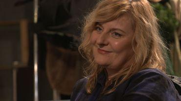 Catherine Salée lors de l'émission Tout le Baz'Art