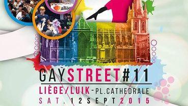 L'affiche de la Gay Street, édition 2015.
