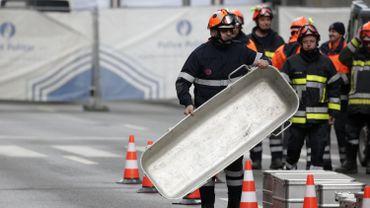 Les blessés sont soignés dans plusieurs hôpitaux répartis dans plusieurs provinces belges et de la Région de Bruxelles-Capitale.