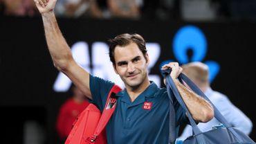 Roger Federer se promène au 3e tour de l'Australian Open