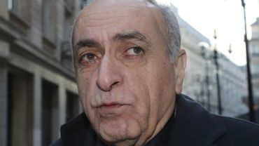 L'homme d'affaires franco-libanais, Ziad Takieddine à Paris le 7 décembre 2016.