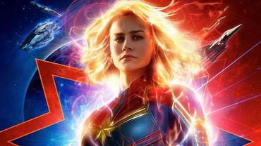 """""""Captain Marvel"""" est premier du classement"""