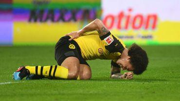 Axel Witsel, blessé, absent avec Dortmund et incertain pour les Diables
