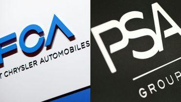 PSA et Fiat Chrysler (FCA) prévoient toujours de sceller leur union d'ici la fin du premier trimestre 2021