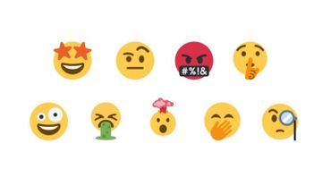 Le compte Twitter Emoji Mashup Bot se décline en stickers