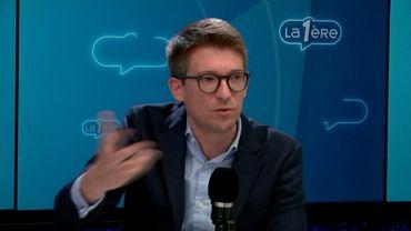 """Pierre-Yves Dermagne (PS): """"À la place de Moreau, j'aurais démissionné depuis longtemps"""""""