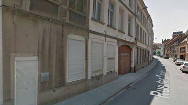 Le feu s'est déclaré dans un immeuble à appartements dans le quartier St-Piat à Tournai