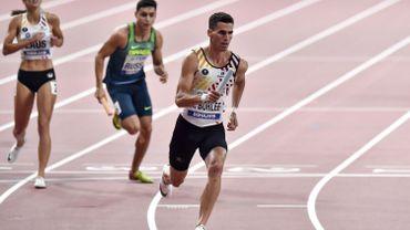 Kevin Borlée élu à la commission des athlètes de l'IAAF