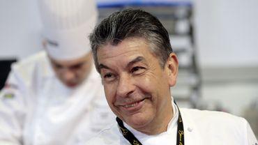 Regis Marcon, chef du restaurant Régis et Jacques Marcon à Saint-Bonnet-le-Froid, en Haute-Loire.