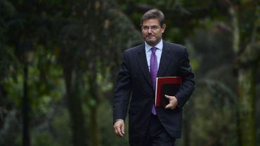 """Le ministre espagnol de la Justice, Rafael Catala, a assuré lundi que l'Etat ferait """"tout ce que permet la loi"""" si les séparatistes catalans déclaraient unilatéralement l'indépendance"""