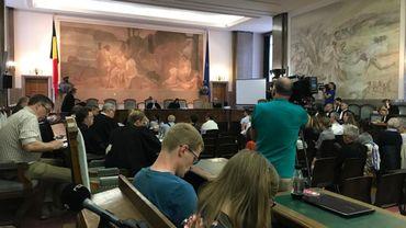 Ouverture du procès de la catastrophe de Buizingen à Bruxelles