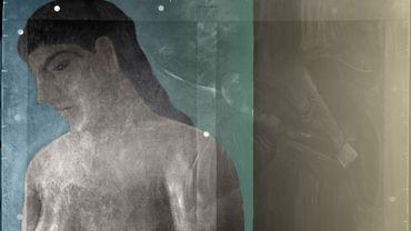 Colorisation de la radiographie de « Dieu n'est pas un Saint » révélant « La pose enchantée »