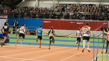 Bientôt une piste d'athlétisme indoor comme celle-ci au Blocry, le centre sportif de Louvain-la-Neuve